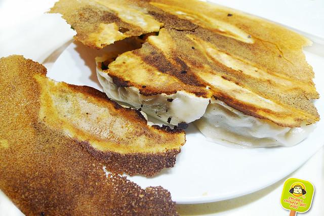 dumpling galaxy - pork and chives pan fried dumplings