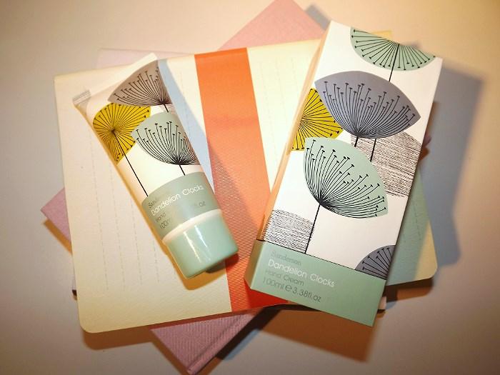 heathcote and ivory dandelion hand cream