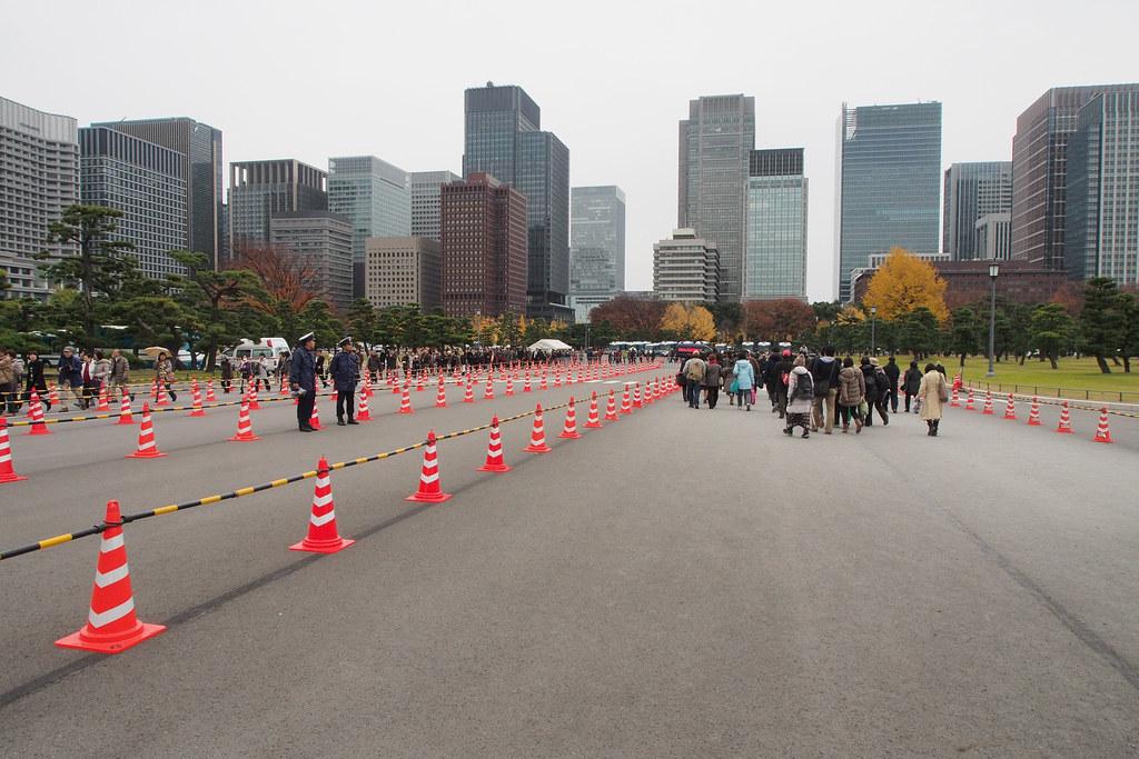 东京皇居入口 Tokyo Imperial Palace entrance