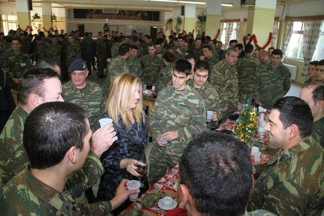 Ολοκλήρωση επίσκεψης Αναπληρωτή Υπουργού Εθνικής Άμυνας Φώφης Γεννηματά στην ΠΕ Δ΄ΣΣ