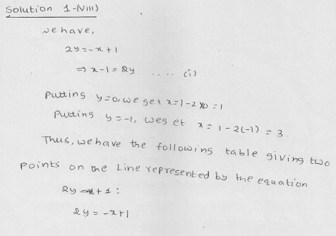 RD Sharma Class 9 Solutions Chapter 13 Linear Equations in Two Variables 23