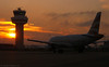 British Airways - G-DBCB sunset - London Gatwick (EGKK/LGW)