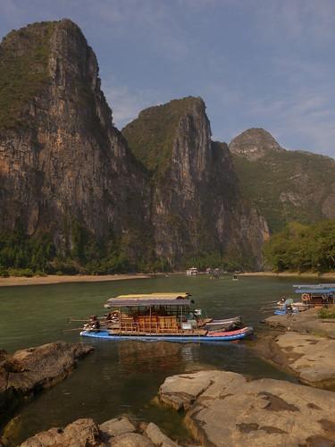 Yangshuo Bambou Boat