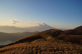 090 Mount Fuji vanaf mt Komagatake