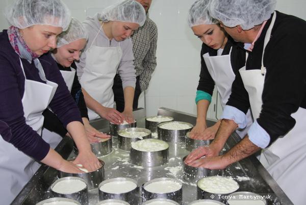 17 - мастер-класс по приготовлению сыра - традиции Португалии