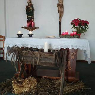 Weihnachtskrippe in der Kirche San Eugenio