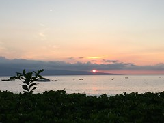 A Maui Sunset - A view from the Four Seasons