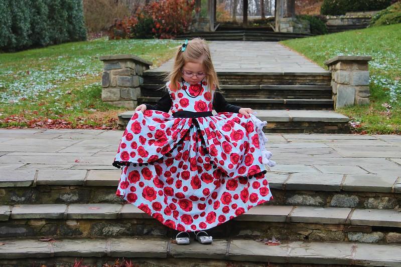 Rose in the Garden Dress