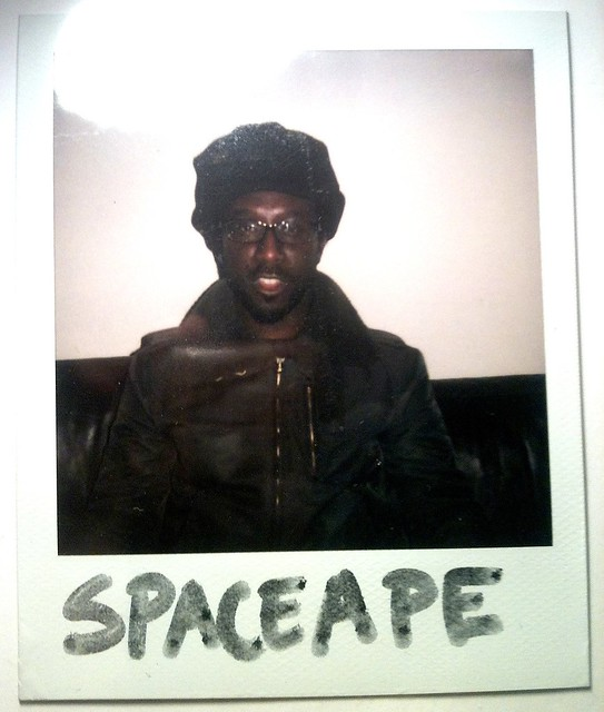 Spaceape Polaroid ©GC