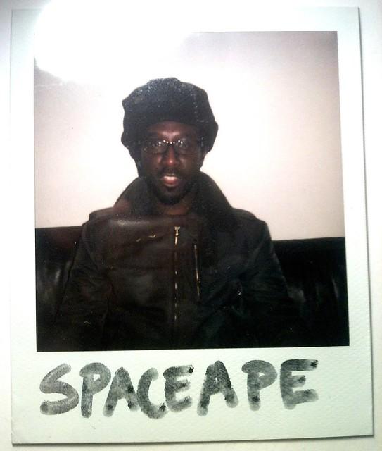 Spaceape Polaroid ©GC
