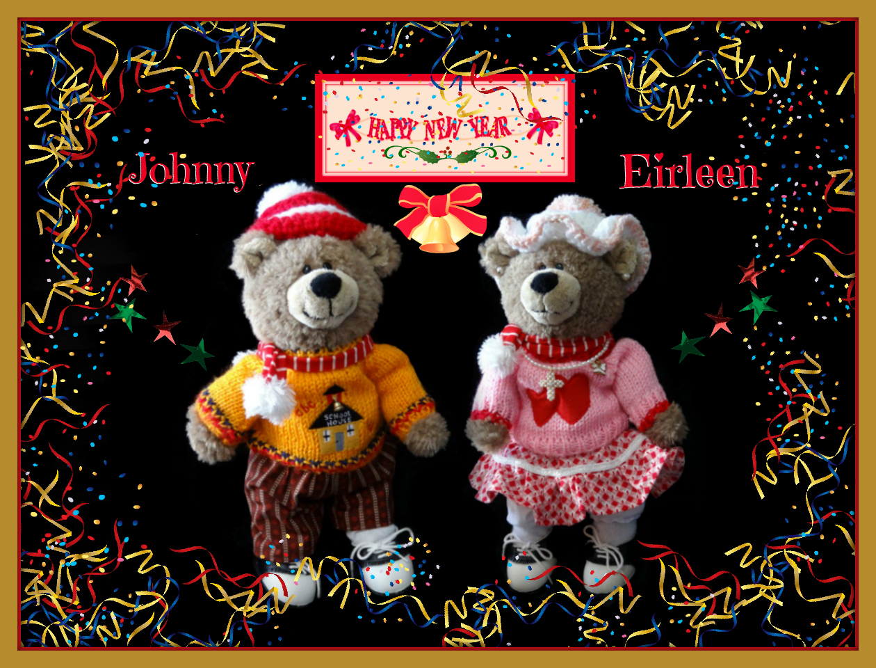 Happy New Year from Johnny & Eirleen