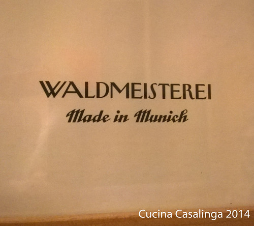 Dimple Menu Waldmeisterei