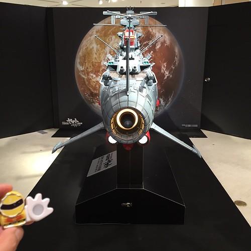 宇宙戦艦ヤマト2199原画展FINAL。1/100ヤマトは場外に。
