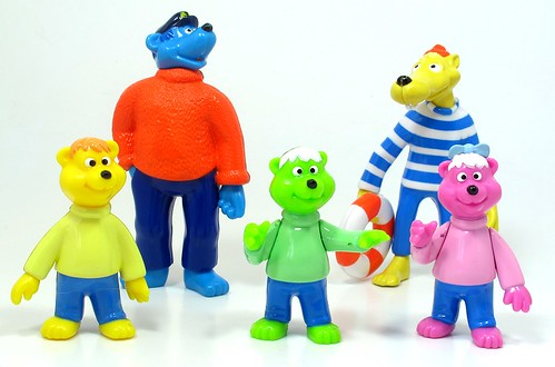 Captain Bluebear and crew