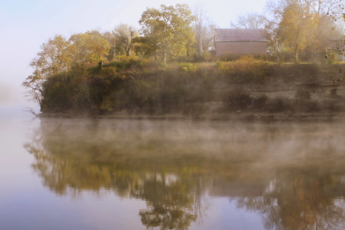 Autumn Morning at the River Confluence