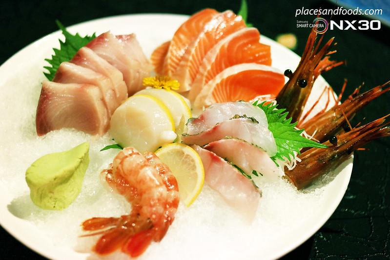 fu rin sashimi moriawase