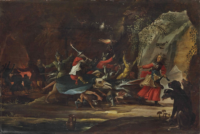 CIRCLE OF DAVID TENIERS THE YOUNGER - DULLE GRIET (Mad Meg) 16th c