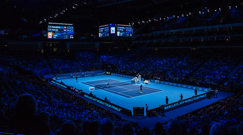 2014-11-12_2014 ATP World Tour Finals_show court during Marin Cilic vs Thomas Berdych match_3_by Michael Frey