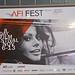 AFIfestival2014-Sophia Was Everywhere!