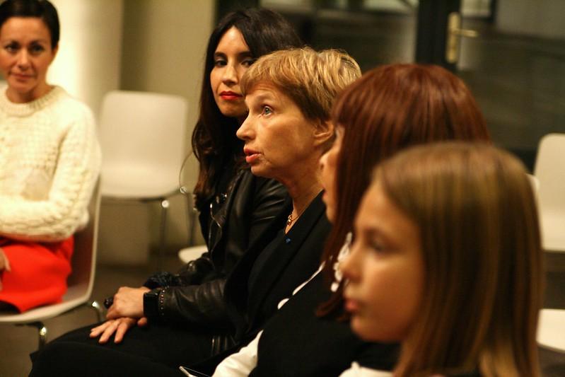 Rencontre GirlPower 3.0 avec Laurence Parisot à l'Hôtel de l'Industrie.