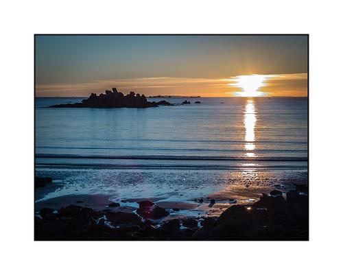 ocean sunset sea mer color nature landscape brittany fuji bretagne paysage couleur couchédesoleil finistère atlantique porspoder recifs siouxies fujix20