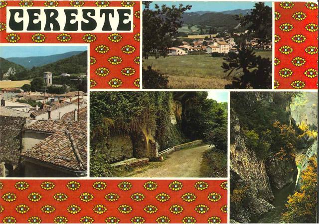 Entre la carte postale et la nappe aux motifs provencaux.