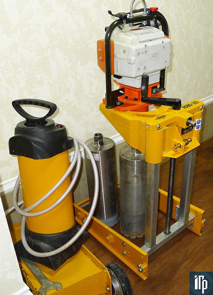 Оборудование для вырубки асфальта