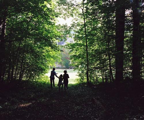 tree green 120 film analog forest mediumformat fuji child kodak voigtlander bessa running vert parent mf 6x7 667 enfant portra arbre 670 heliar portra400 moyenformat voigtländer maxsat bessaiii fujigf670 maxwellsaturnin