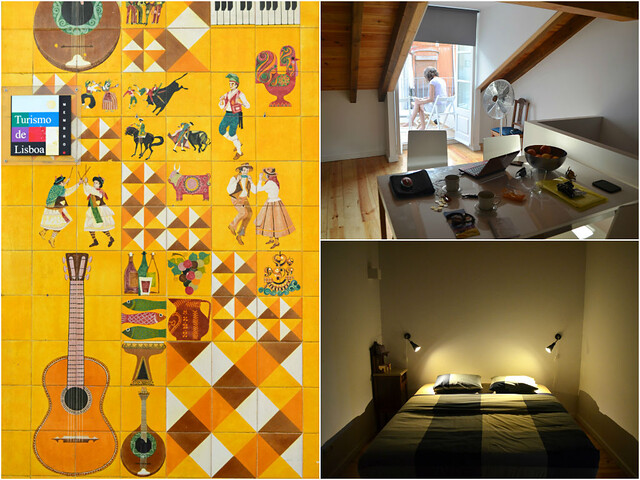 Apartment, Bairro Alto, Lisbon, Montage 2