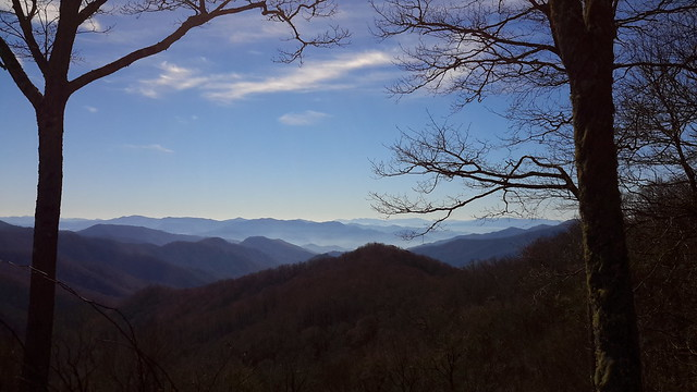 Stunning view of the Appalachian Mountains