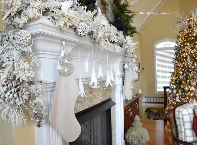 Great Room Mantel-Christmas 2014-Housepitality Designs