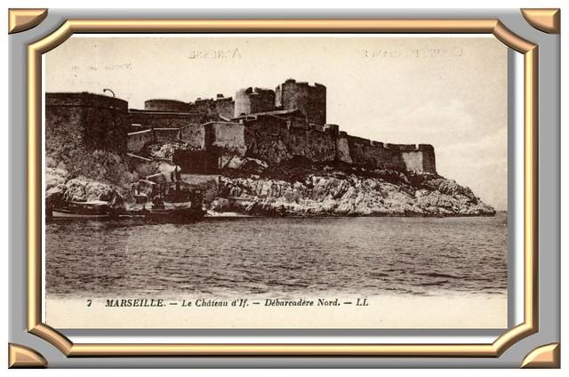Le château d'If. - Débarcadère Nord. - LL 7 MARSEILLE