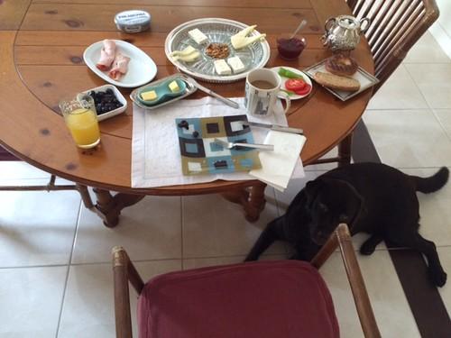 Breakfast in Istanbul w/ Badem