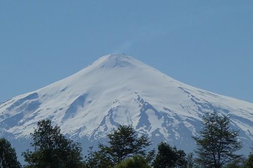 ビジャリカ火山から噴煙?