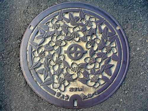 Kyotanabe Kyoto, manhole cover 3 (京都府京田辺市のマンホール3)