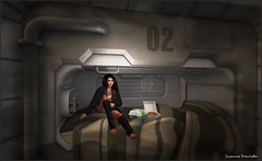 Spacecraft  Sleeping Nook 1