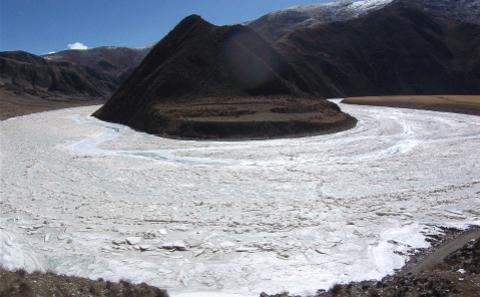冰川。圖片來源:楊勇