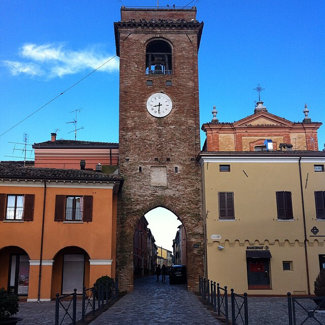 myturismoer @larabadioli 01 Torre dell'Orologio San Giovanni in Marignano