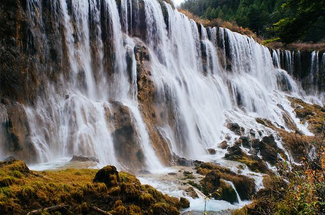 109/365: Jiu Zhai Gou Falls 1
