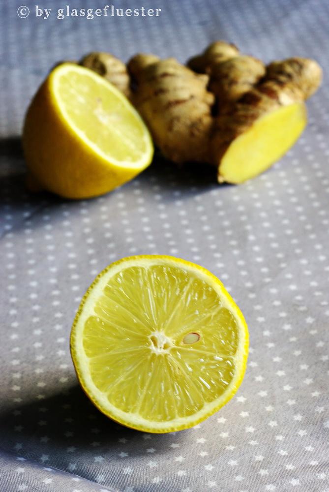 Ingwer Zitronen Marmelade by Glasgeflüster 1 klein