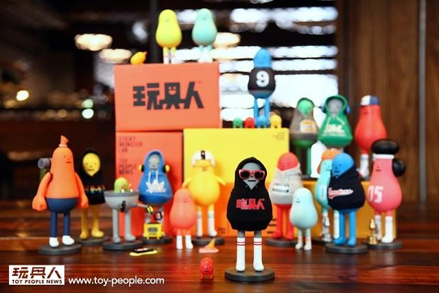 【開箱報告】玩具人 × Sticky Monster Lab 三周年慶生公仔