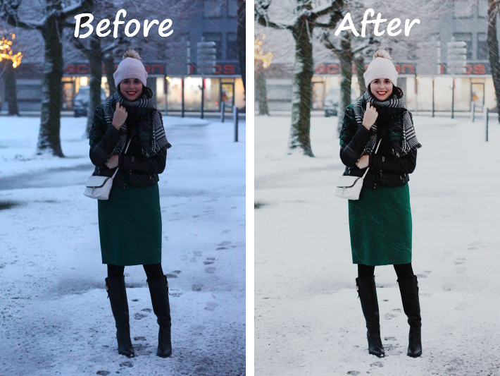 photo editing make dark photo lighter