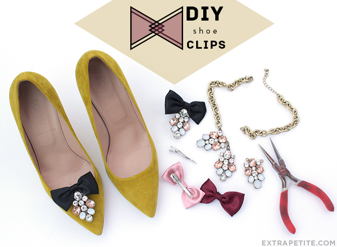 DIY shoe clips tutorial header