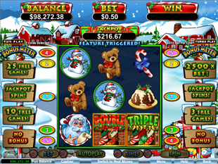 Santastic! slot game online review