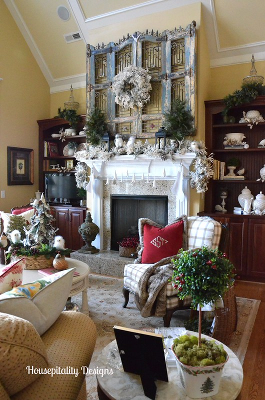 Great Room-Christmas 2014-Housepitality Designs