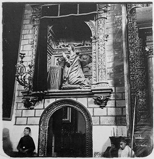 Sepulcro de Catalina de Aragón en 1904. Fotografía de Augusto T. Arcimis © Fototeca del IPCE, MECD. Signatura ARC-0723_P