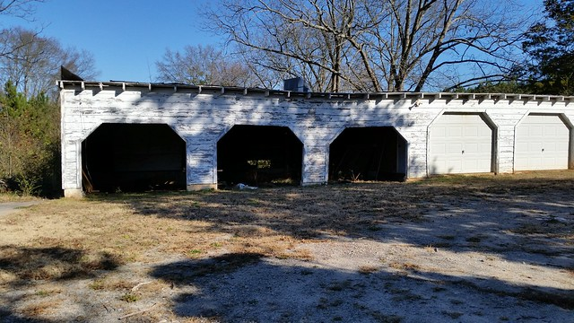 20141212_141947 2014-12-12 Macon Highway white hosue with square columns 5 car garage