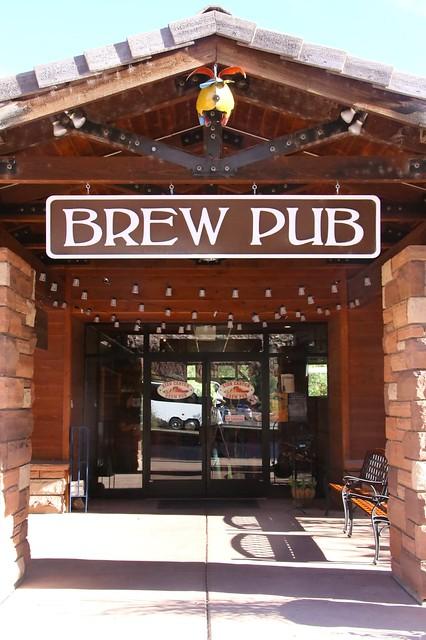 Zion Canyon Brew Pub.  Utah.