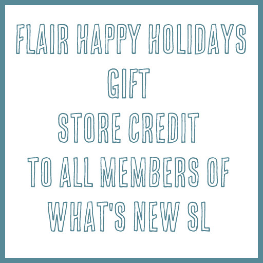 Flair Gift - What's New SL