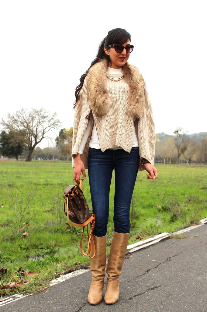 Layering with  Poncho or Cape 1